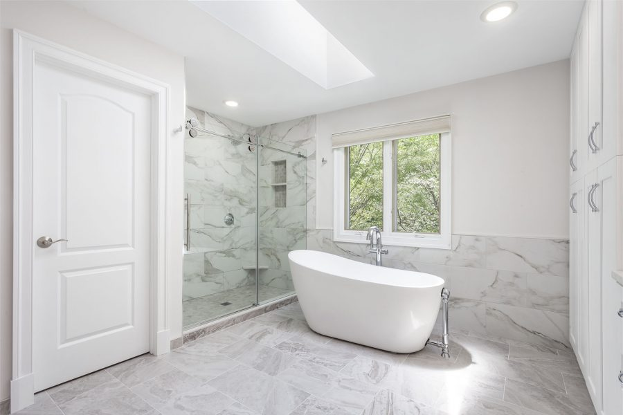 Freestanding Glass Shower