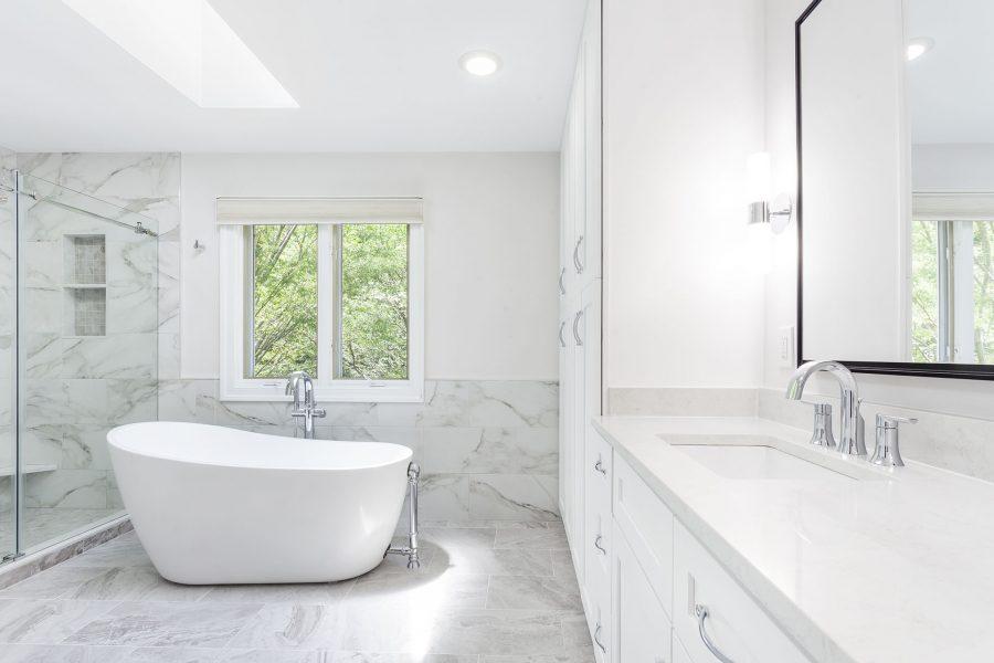 Bright Bathroom in Oakton, VA