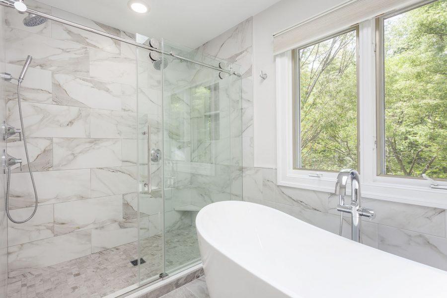 Custom Frameless Shower Glass Door