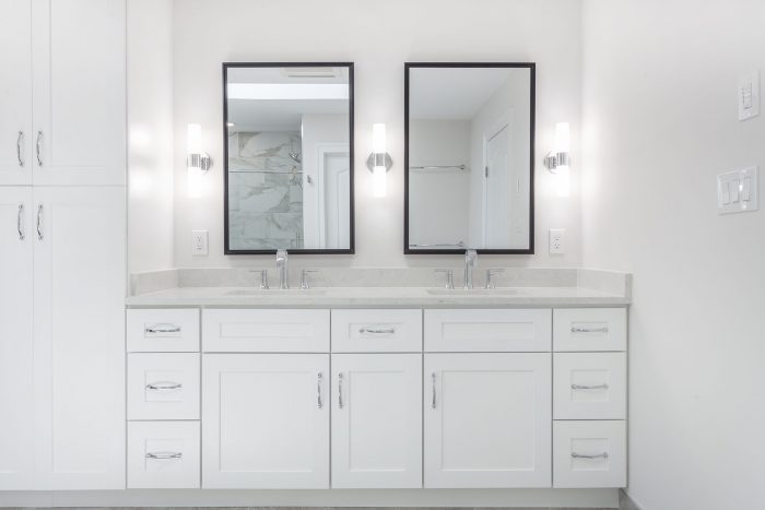 Black Frame Vanity Mirrors by Ebern Designs