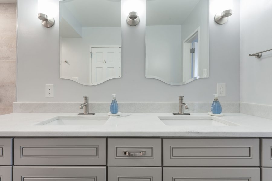 Vanity Mirrors with Sconce Lights