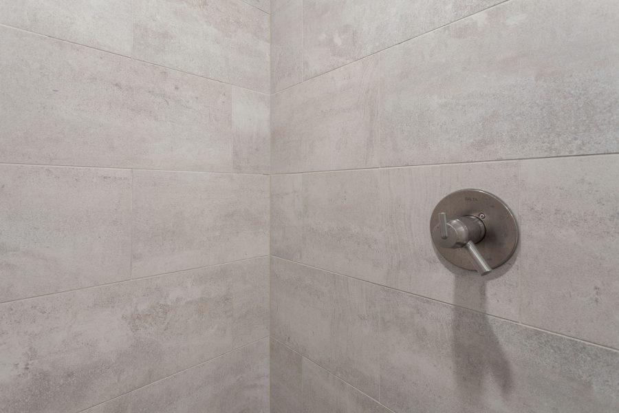 Gray Ceramic Shower Tiles