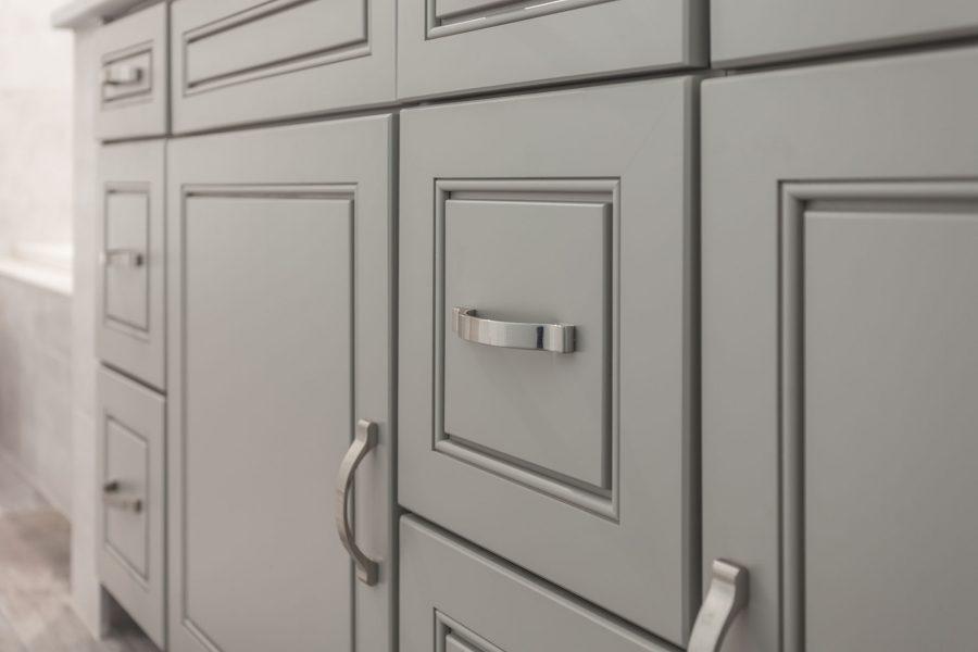 Gray Color Bathroom Vanity