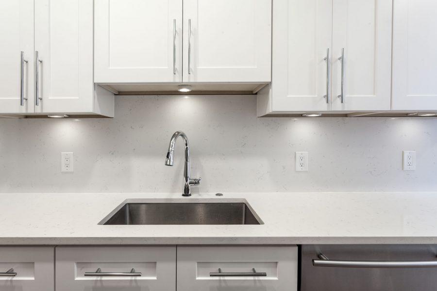 Brita Handmade Undermount Stainless Steel Kitchen Sink & Delta Faucet