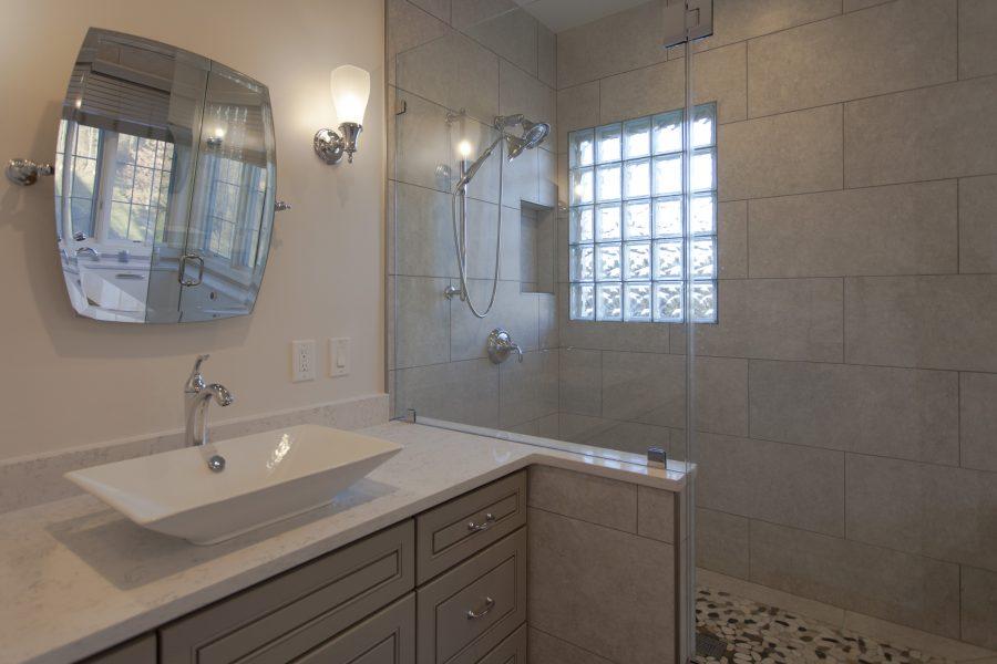 Shower & vanity divider