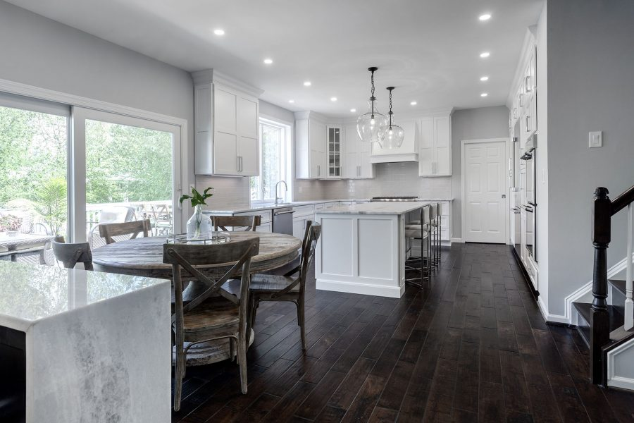 Dining Space Integrated to the Kitchen