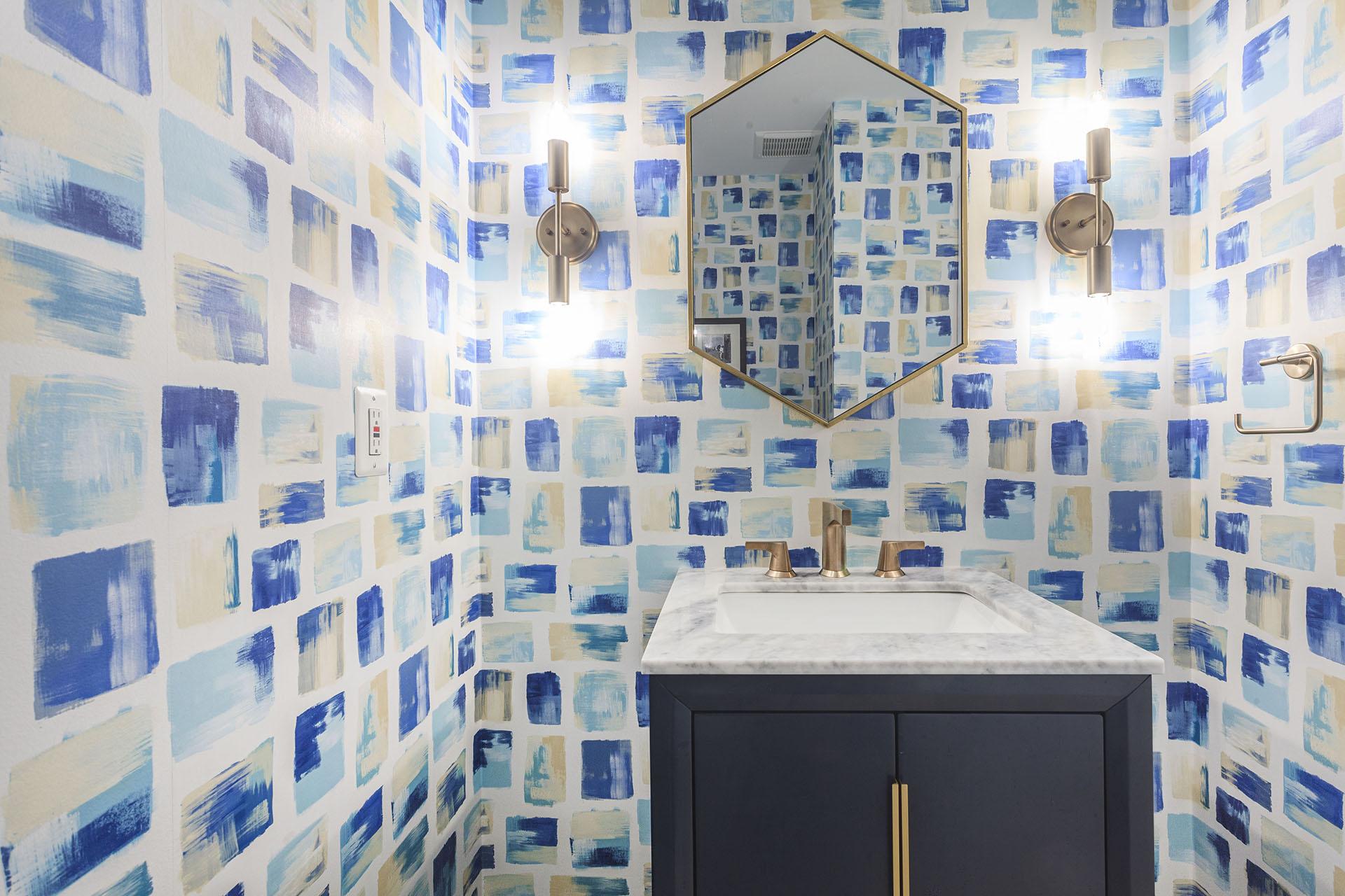 Hexagon Vanity Mirror
